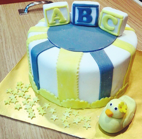 Baby 1st Birthday Cake Delcies Desserts and Cakes