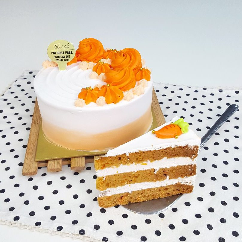 Hummingbird Bakery Carrot Cake